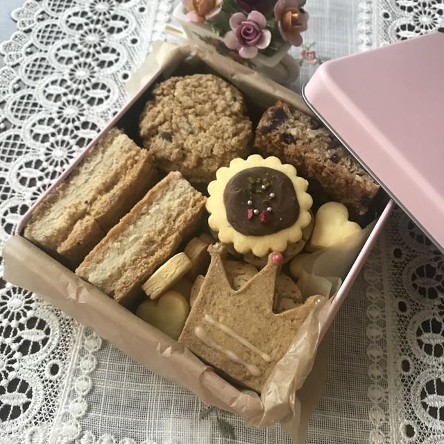 【グルテンフリー】英国クッキー缶