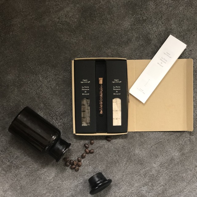 【限定】ブラックココアとコーヒーのギフトボックス