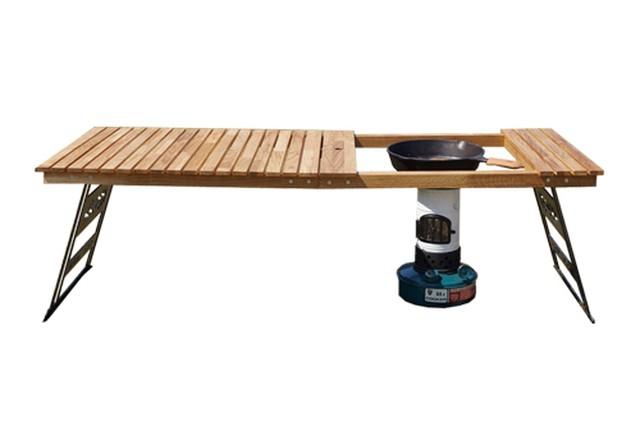 【限定入荷!】Helinox (ヘリノックス)タクティカルテーブル(M.S.テーブルワン)用シマ板天板。 キャンプ オーパーツ