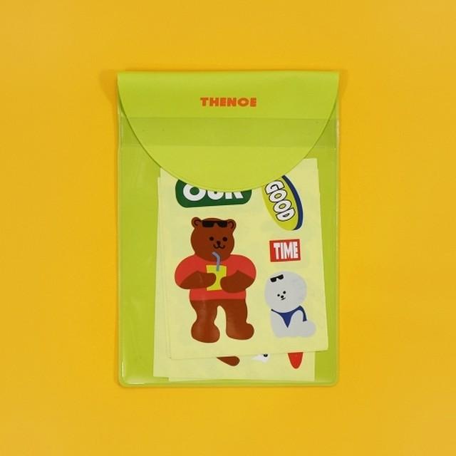 [S-23] 「TEDDY BEAR V2」 ヴィンテージステッカー