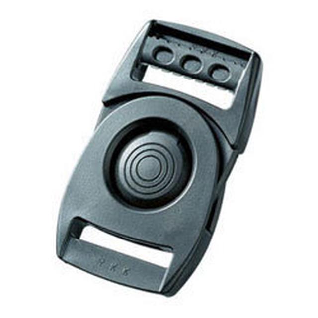 YKKLB30Q バックル 90°回転 プッシュボタン式 黒 1個(この商品単独なら9個まで送料無料)