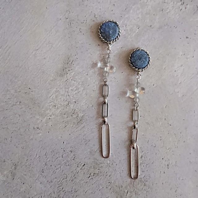 Druzy chain Ear Jewelry