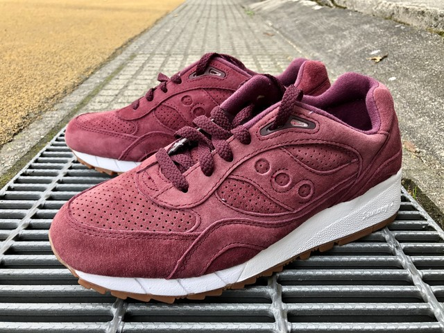 SAUCONY x PACKER SHOES SHADOW 6000 (BURGUNDY)
