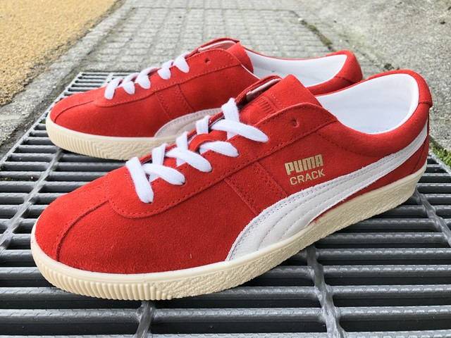 PUMA CRACK HERITAGE (RISK RED-PUMA WHITE)