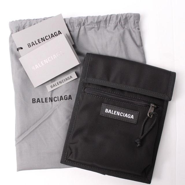 BALENCIAGA バレンシアガ ショルダーバッグ Black ロゴ [全国送料無料] r017317