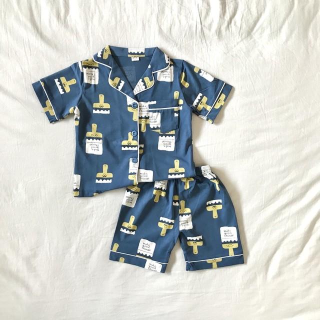 ブラッシー柄パジャマ【R010】