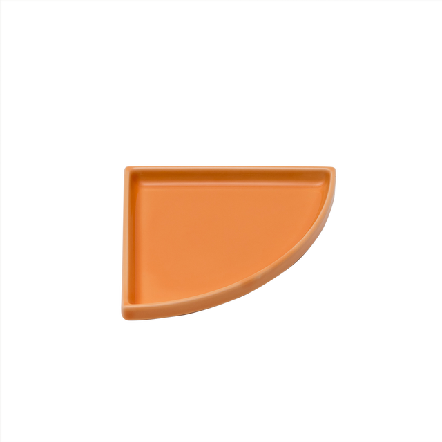 有田焼皿   Quarter Plate beige