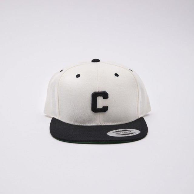 Crate Snap Back Cap WHITE×Black