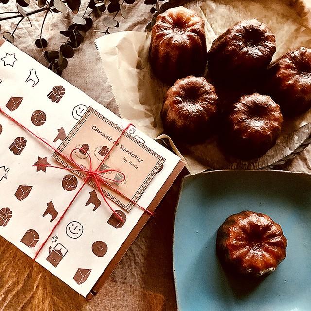 木の実と果実のチョコレートブラウニー(2個入りギフトBOX)