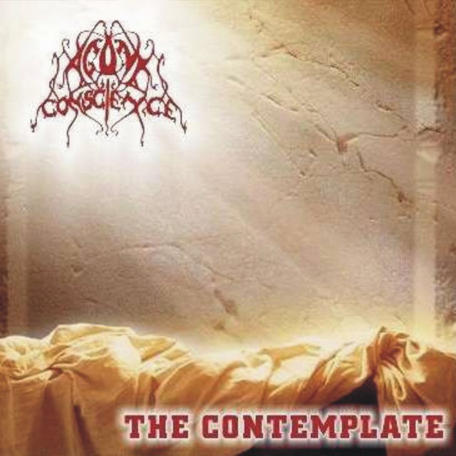 AGONY CONSCIENCE『THE CONTEMPLATE』CD