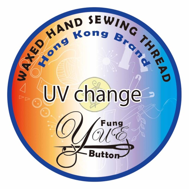 【0.45mm】UV change Yue Fung Polyester cord thread