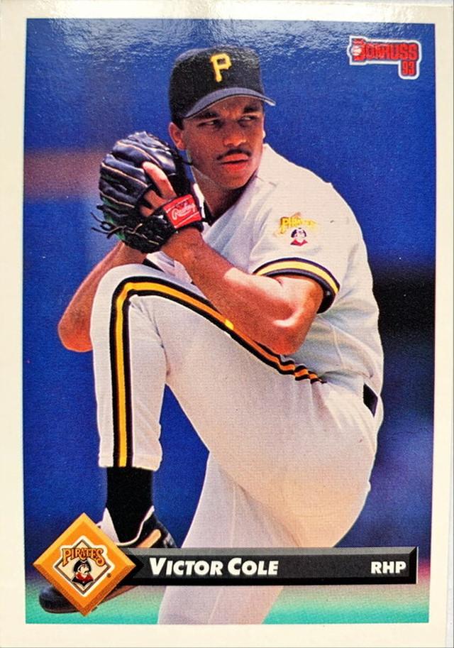 MLBカード 93DONRUSS VIctor Cole #120 PIRATES