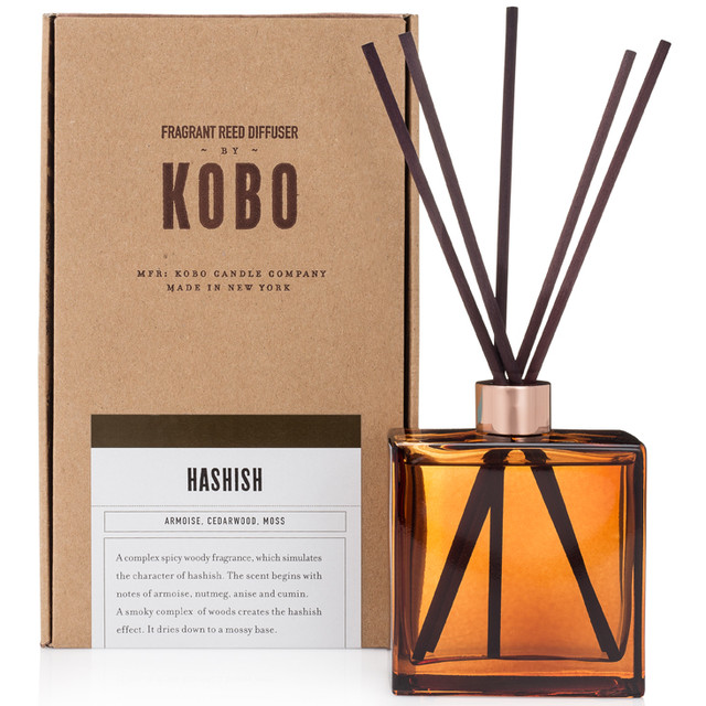 HASHISH - WOODBLOCK REED DIFFUSERS