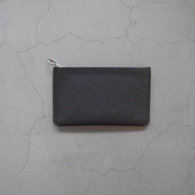Aeta MINI WALLET BLACK/SILVER