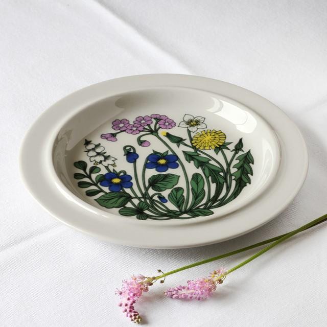 ARABIA アラビア Flora フローラ 20cm皿 - 1 北欧ヴィンテージ
