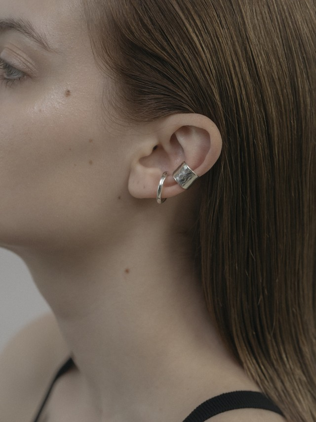 raw wide earcuff(再入荷)