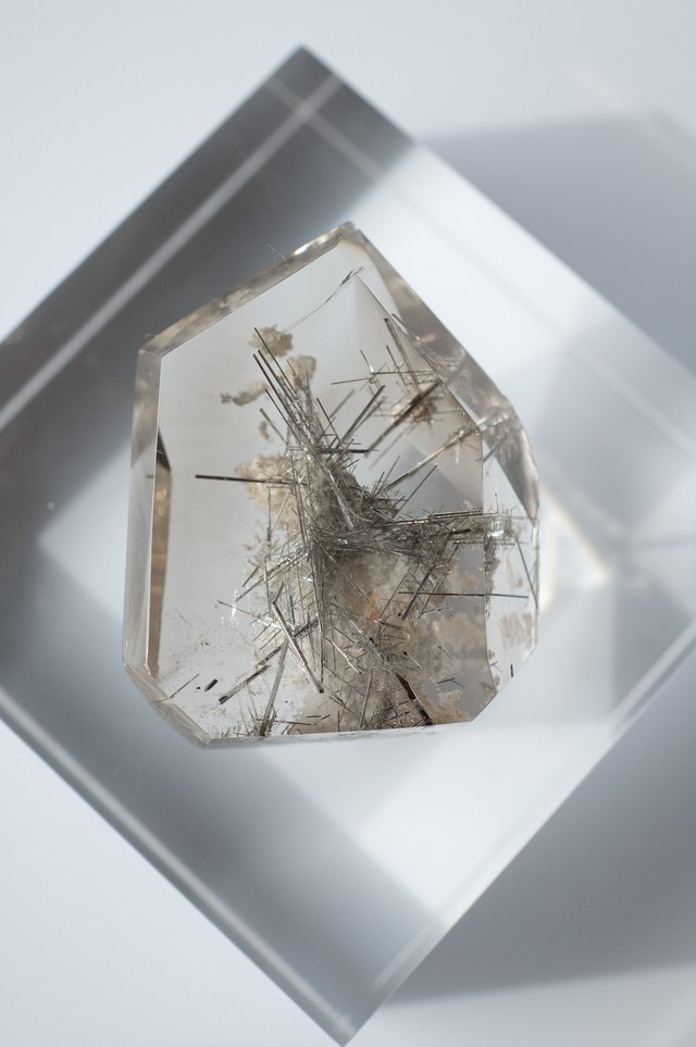 Silver Rutilated Quartz  - 030