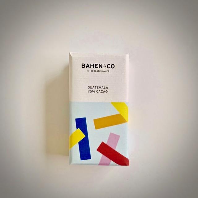BAHEN&Co. グアテマラ75%ダークチョコレートバー・ミニ