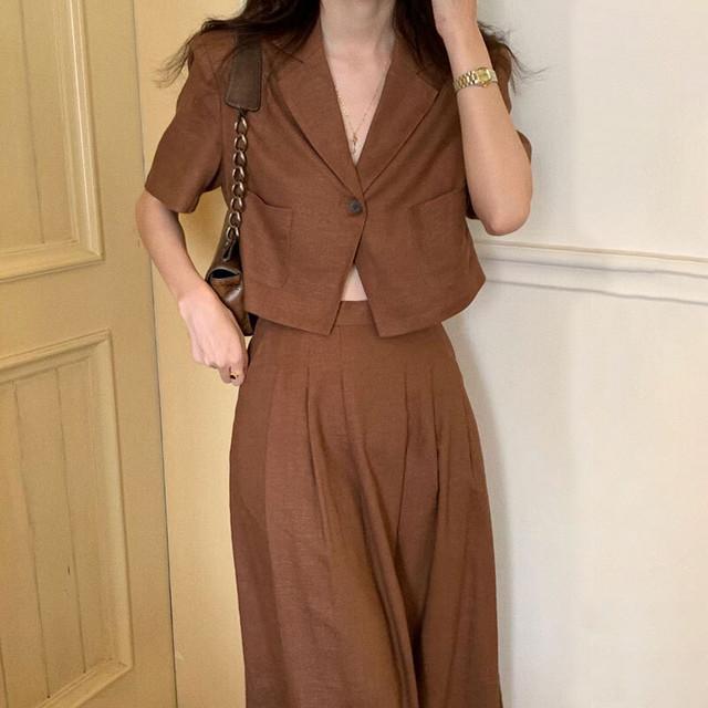 ガーリー セットアップ ジャケット | スカート ショートジャケット ガーリー スタイルアップ 韓国服