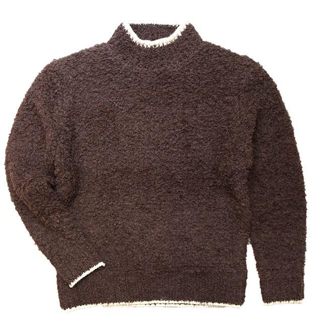 Stevenson Overall Co. Chenilie Knit Sweater Dark Brow [SO-CS]