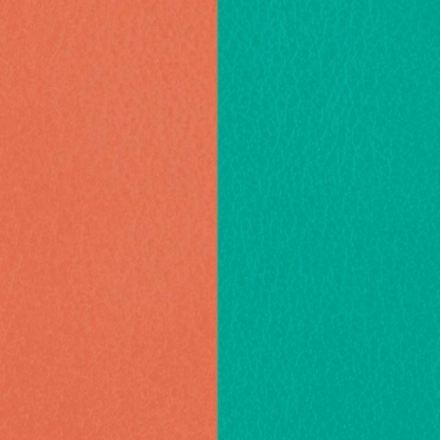 【レジョルジェット】25mmレザー テラコッタ/ブルーラゴン