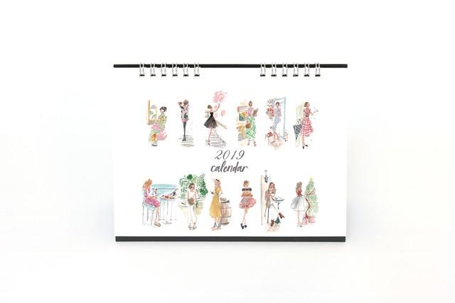 2019カレンダー《予約受付中》11月より発送開始♪