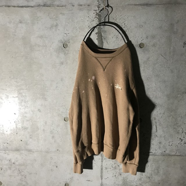 [ STUSSY & Champion ] collaborated sweat