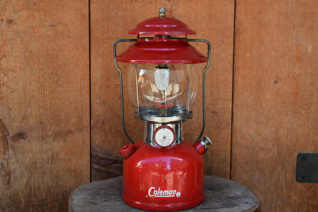 USED Works! 60s Coleman 200A Lantern -1963/08 G0708