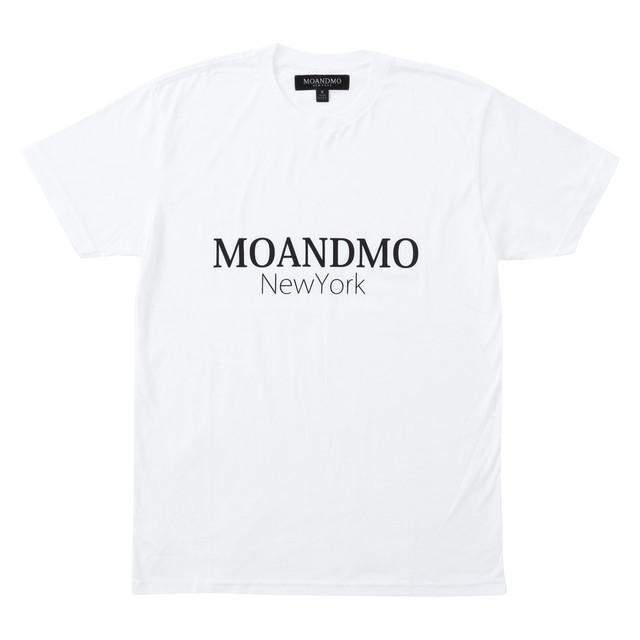 MOANDMO Logo Classic Tee / White