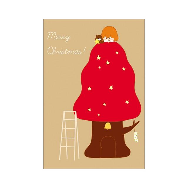ポストカード Merry Christmas