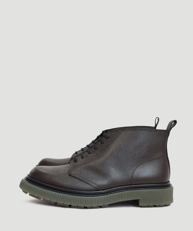 ADIEU Type-121 Polido Calf With Grain Cafe