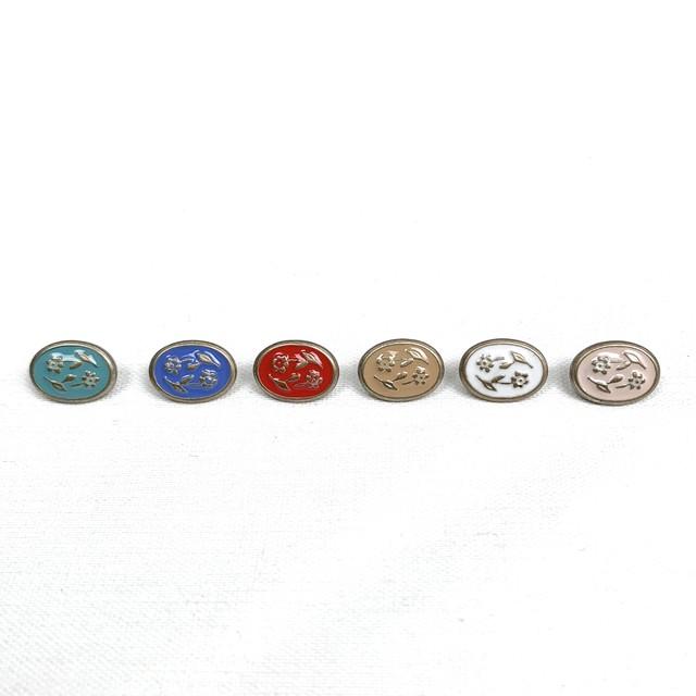 イタリアメタルボタン(小花)1p