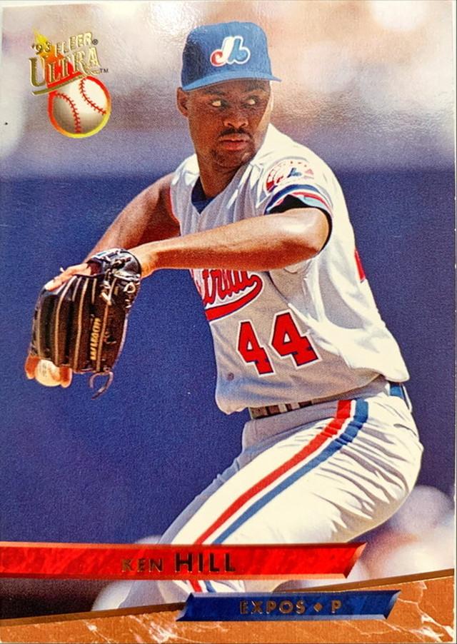 MLBカード 93FLEER Ken Hill #068 EXPOS