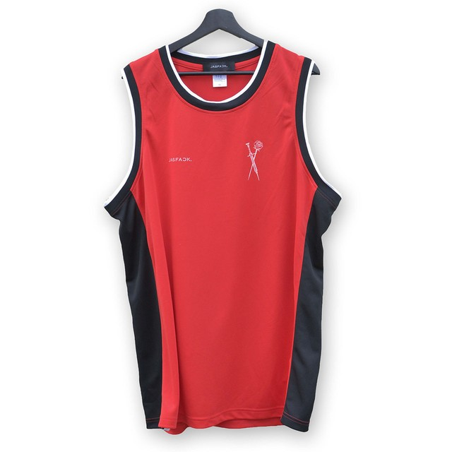 Basketball Shirt …MIM… (JFK-034) - Red