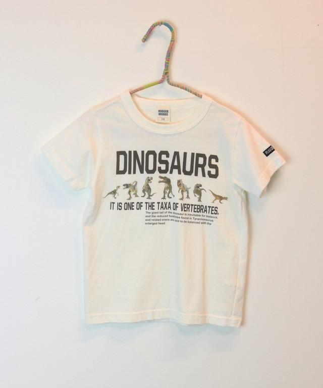 恐竜フォトプリント半袖TEE(日本製)