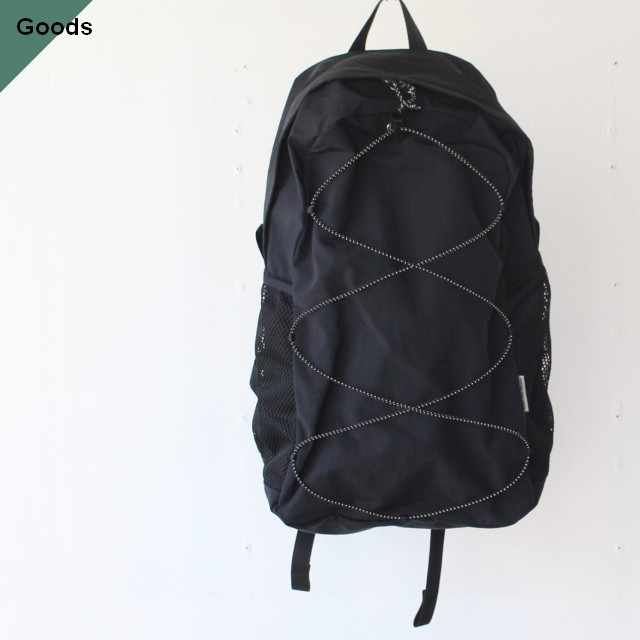 ENDS and MEANS  Packable Backpack EM-ST-A05 ブラック