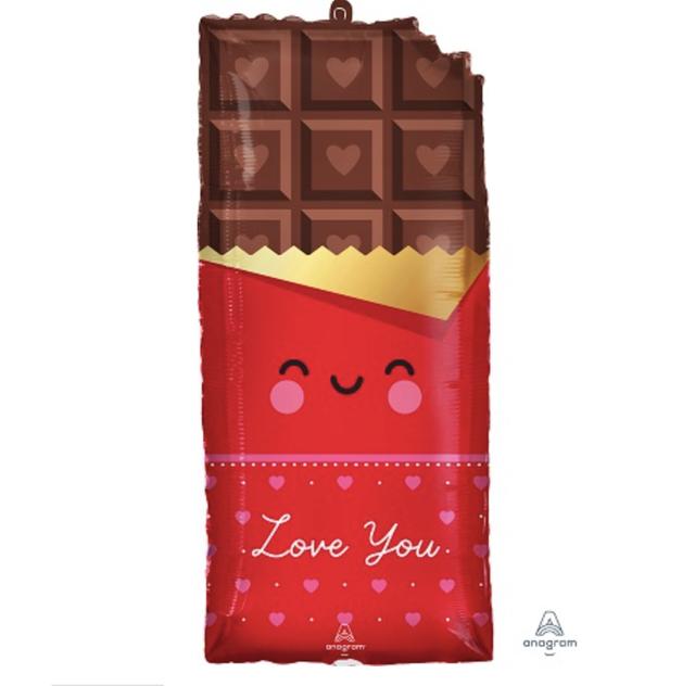 チョコレート love you フィルムバルーン バレンタイン 装飾 飾り付け valentine's ディスプレイ 装飾 パーティー 飾り