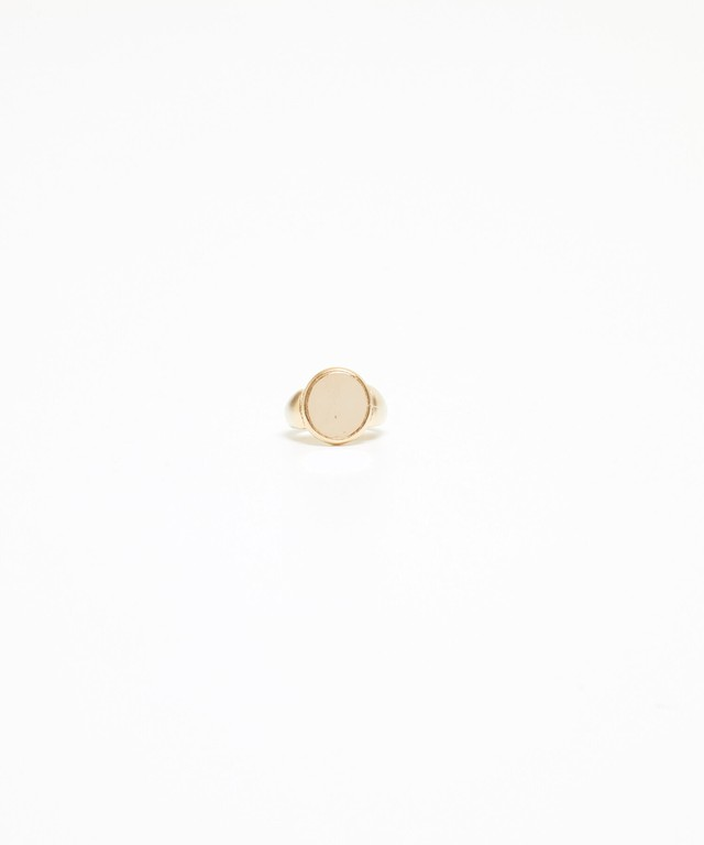 Gold Mirror Ring