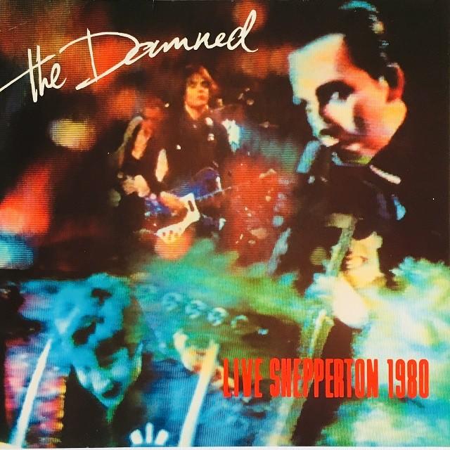 【LP・欧州盤】The Damned / Live Shepperton 1980