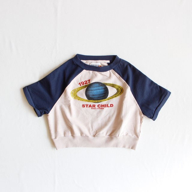 《BOBO CHOSES 2019AW》Archigram Saturn sweatshirt / 2-9Y