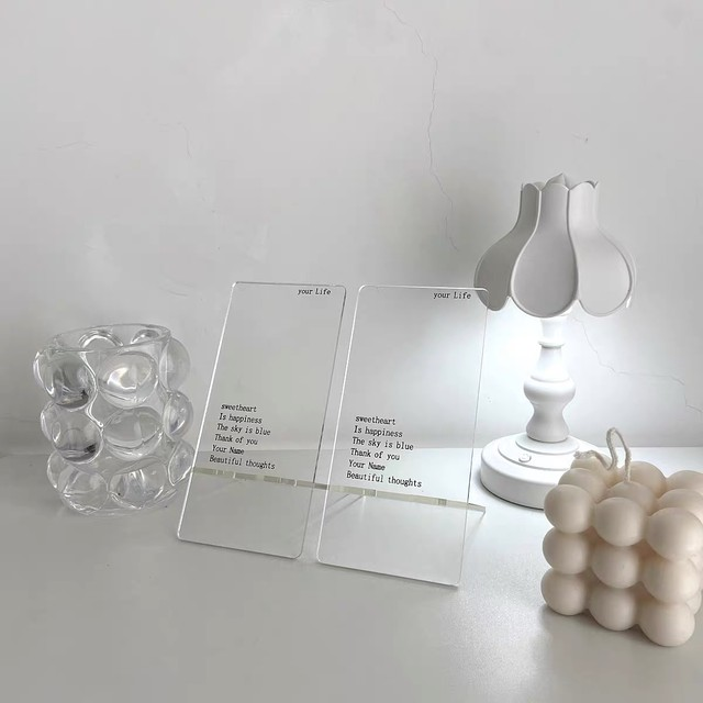 clear phone stand