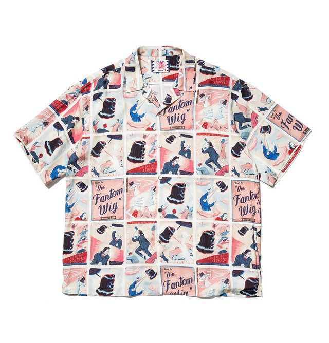 【SON OF THE CHEESE】Fantom Wig Shirt