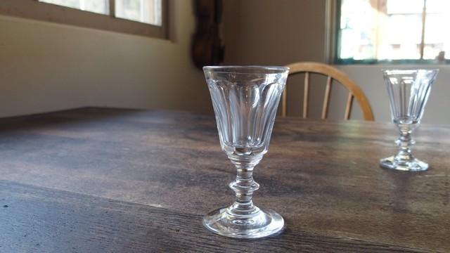 20世紀初期 リキュールグラス