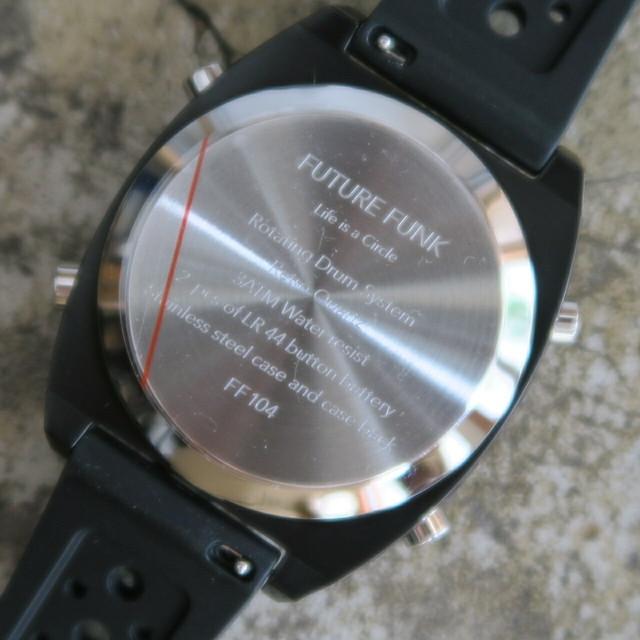 FUTURE FUNK( FF104-BK-RB )BLACK