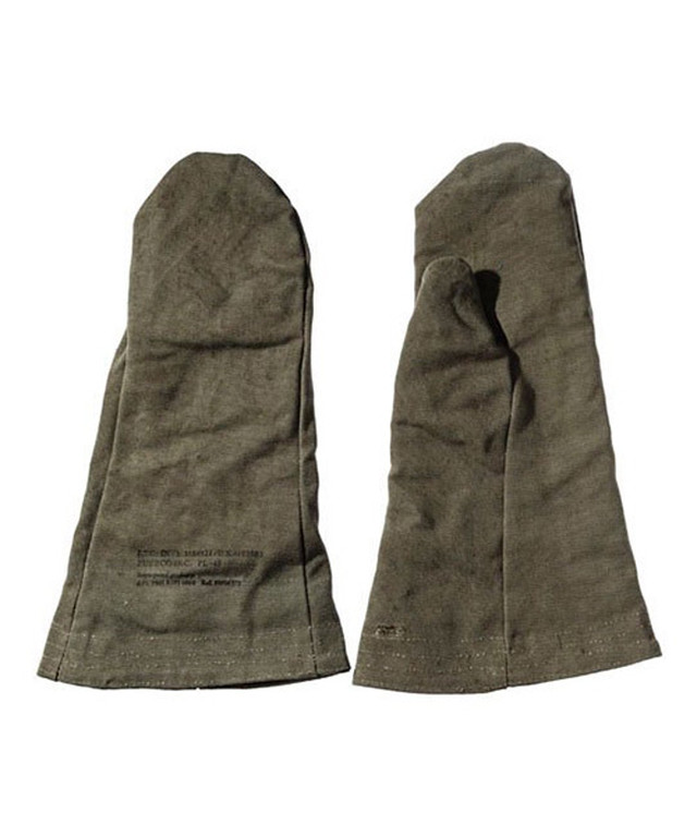PUEBCO:VINTAGE TENT FABRIC MITTENS