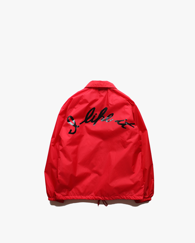 "EZ DO by EACHTIME. "" I Like It  Coach Jacket ""   Red"