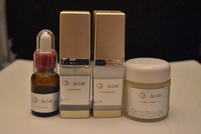 Dr.Cell基本Set化粧品★4点SET!¥71400