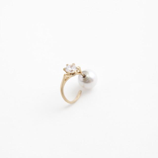 MAYU/Ring motif Pierced earring(片耳)