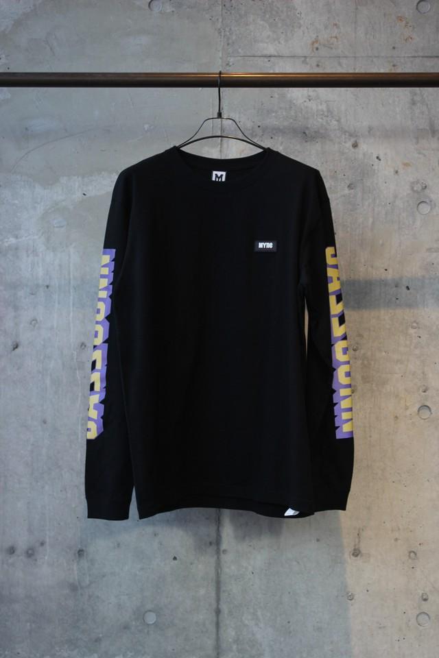 【30%OFF】JASS GUNN L/S T-shirt / BLACK - メイン画像