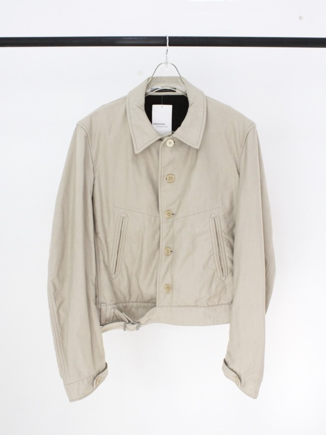 Used 03A/W Y's for men short jacket